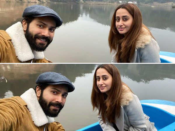 Natasha Dalal joins husband Varun Dhawan in Arunachal Pradesh