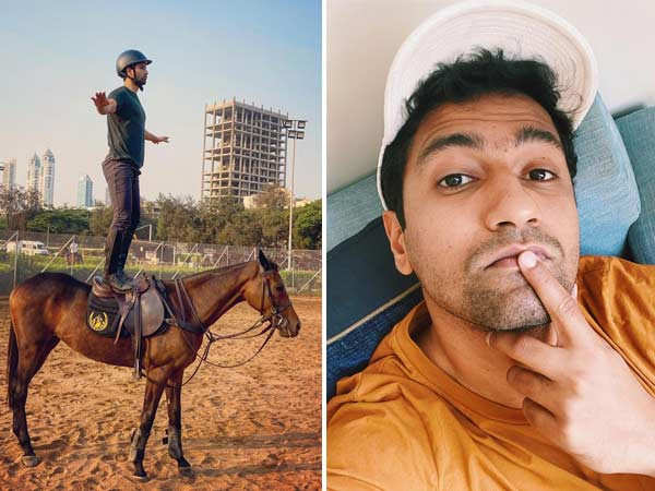 Vicky Kaushal has impeccable balance and here's proof