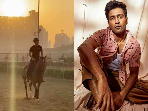 Vicky Kaushal takes to horse riding and makes sure the netizens get a glimpse of it