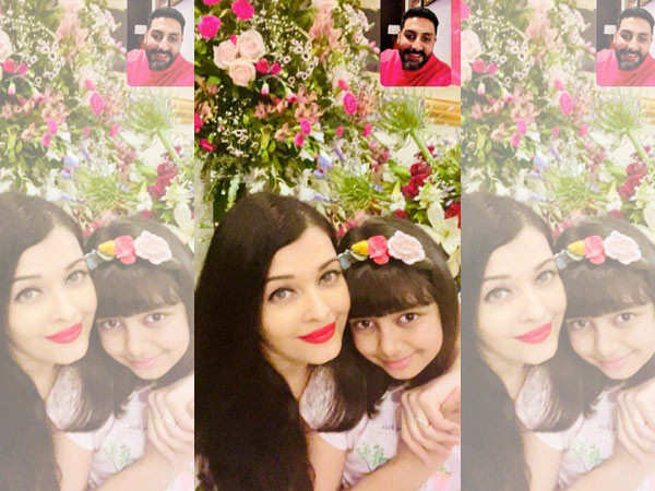 Aishwarya Rai Bachchan shares an unseen picture with Aaradhya Bachchan