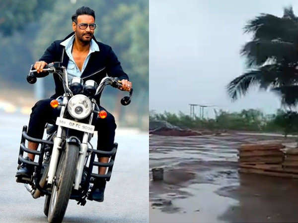 Ajay Devgn's Maidaan's Set Stands Destroyed Due To Cyclone Tauktae
