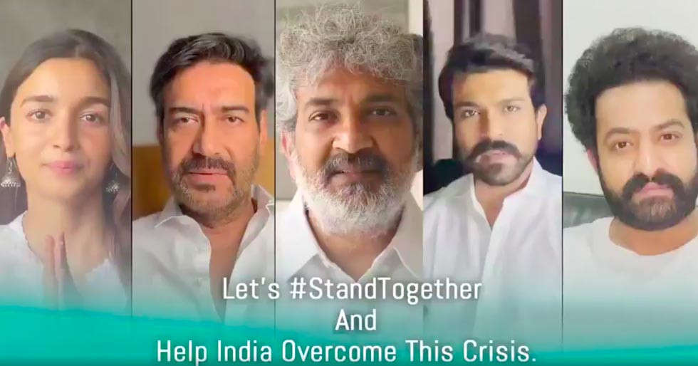 Alia Bhatt, Ajay Devgn, SS Rajamouli, Ram Charan and Jr. NTR come together for an initiative