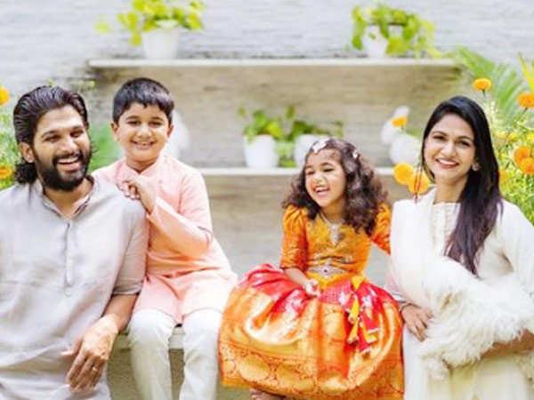 Allu Arjun shares videos of his daughter making him dosa