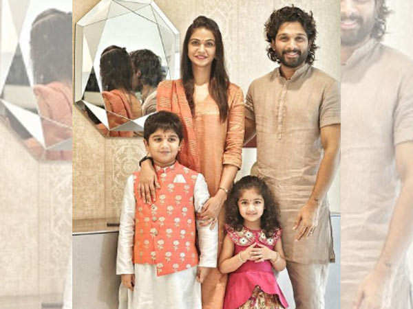 Allu Arjun shares video of meeting his family after 2 weeks in quarantine - watch