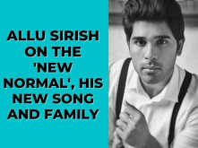 Exclusive Video: Allu Sirish on shooting in the 'new normal', his family dynamics and more
