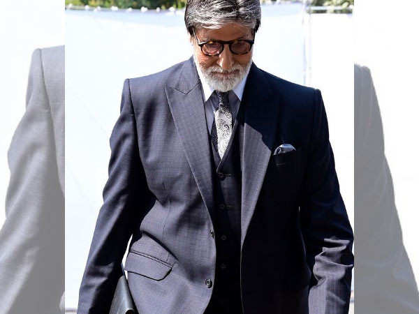 Amitabh Bachchan on doing charity and not talking about it
