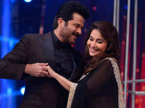 Anil Kapoor says he's looking forward to acting with Madhuri Dixit Nene again