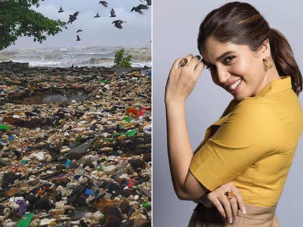 Indian Ocean throws back 153 metric tons of waste after Cyclone Tauktae, Bhumi Pednekar is shocked