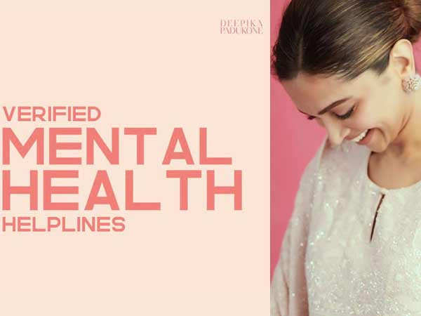 Deepika Padukone shares Mental Healthcare helplines to help people cope during the COVID crisis