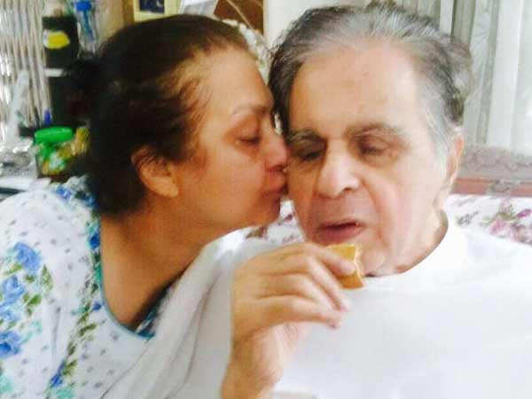 Saira Banu confirms that Dilip Kumar is hospitalised but recovering well