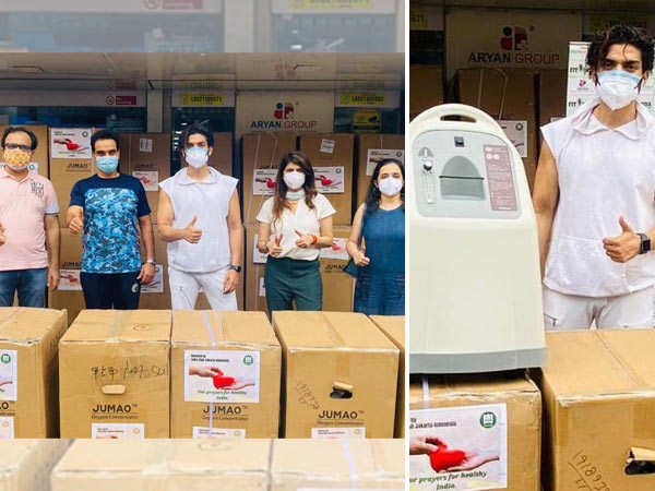 Gurmeet Choudhary organises oxygen concentrators from Indonesia