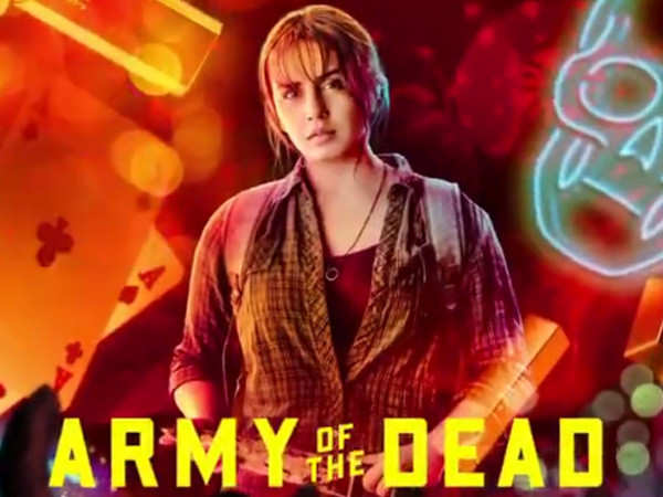 Huma Qureshi is surrounded by zombie entrails in this BTS picture