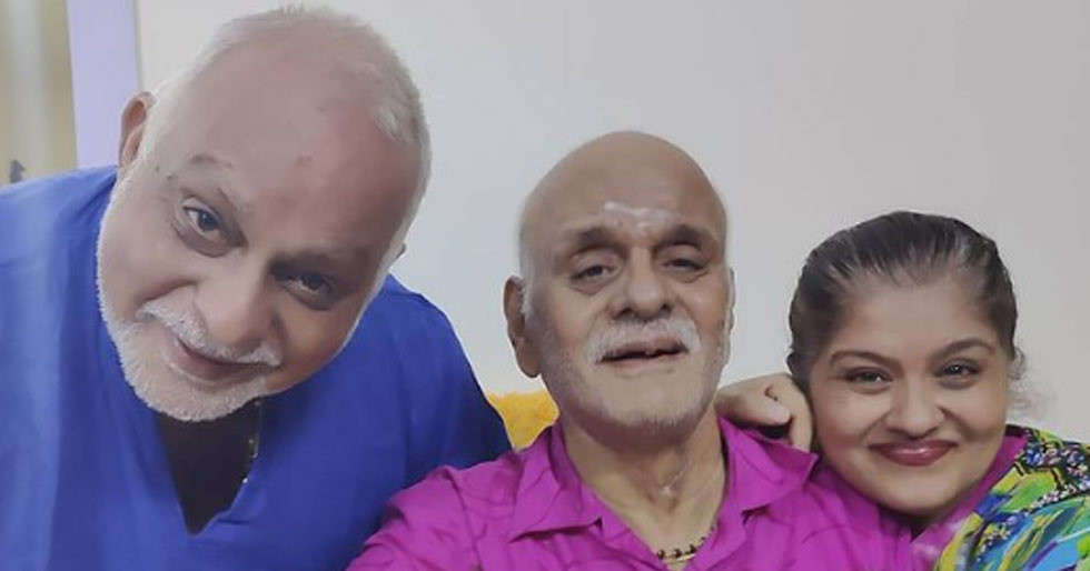 Sudha Chandran pens an emotional note for her late father KD Chandran
