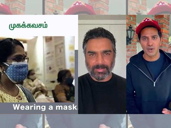 R Madhavan, Dulquer Salmaan feature in video about COVID-19 awareness