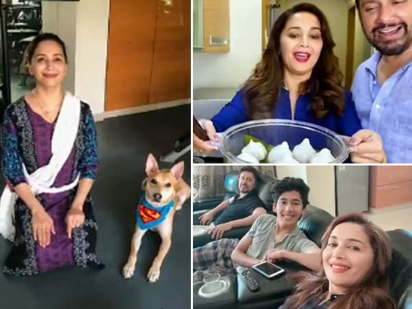 Madhuri Dixit Nene shares how to utilise your time during the lockdown