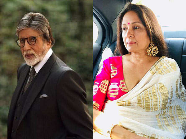 Neena Gupta Recalls How Intimidated She Was When She First Met Amitabh Bachchan