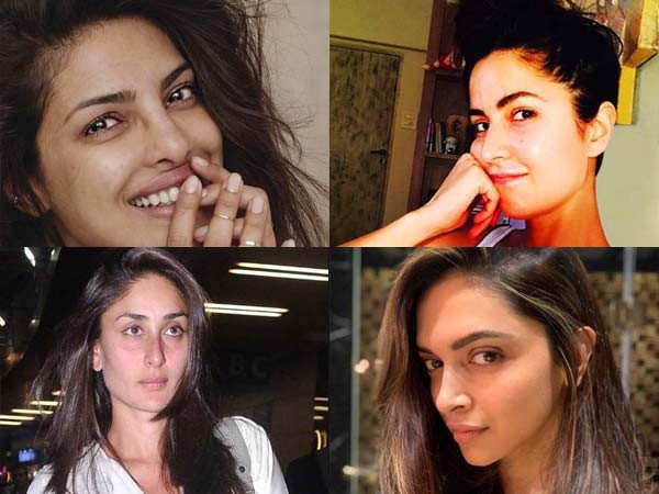 Pictures of top Bollywood actresses without make-up