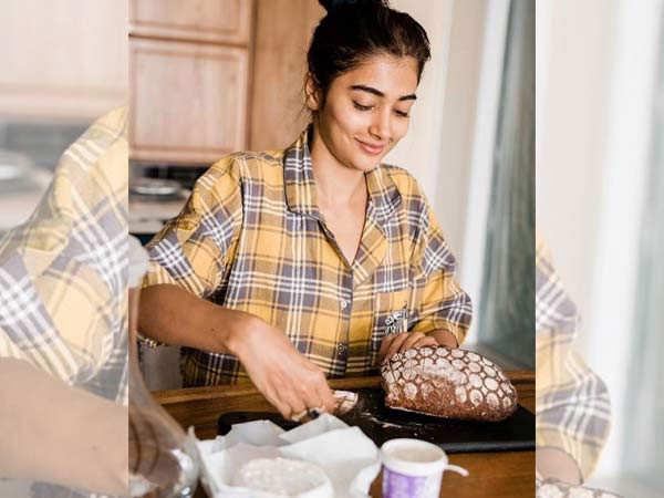 Here's how Pooja Hegde is spending her lockdown
