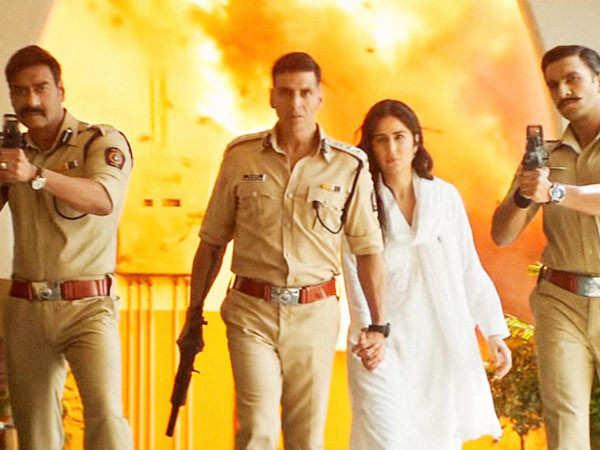 Details of Ranveer Singh and Ajay Devgn's cameos in Sooryavanshi