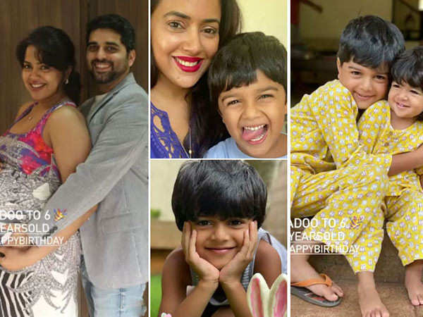 Sameera Reddy posts a heartwarming video to wish her son on his birthday