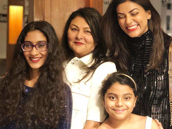 Here's How Sushmita Sen's Daughter Alisah Made Mother's Day Special