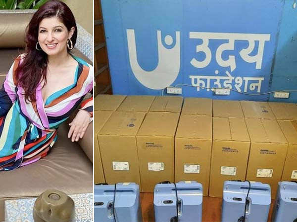 Twinkle Khanna sends two lots of oxygen concentrators to Delhi and Punjab