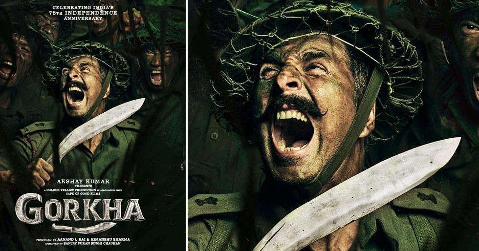 Akshay Kumar to play war hero Major General Ian Cardozo in Gorkha