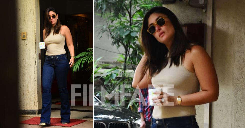 Smoking hot! Kareena Kapoor Khan photographed today