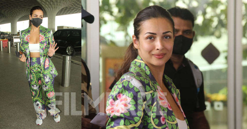 Pictures: Malaika Arora clicked at the airport