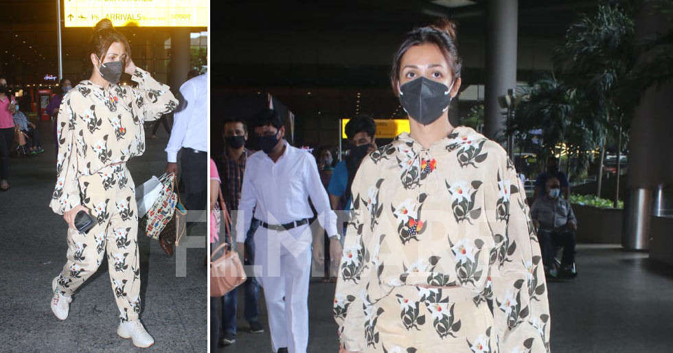 Pictures: Malaika Arora photographed at the airport