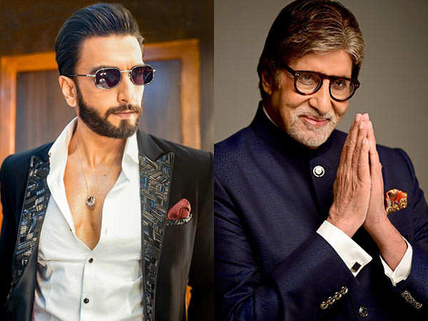 Ranveer Singh has the perfect comment for Big B's cool birthday post
