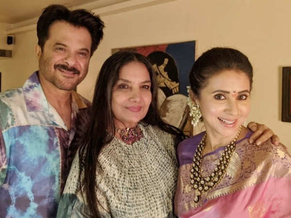 Photos of Shabana Azmi's impromptu bash will leave a smile on your face