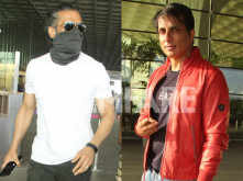 Sonu Sood and Suniel Shetty clicked at the airport