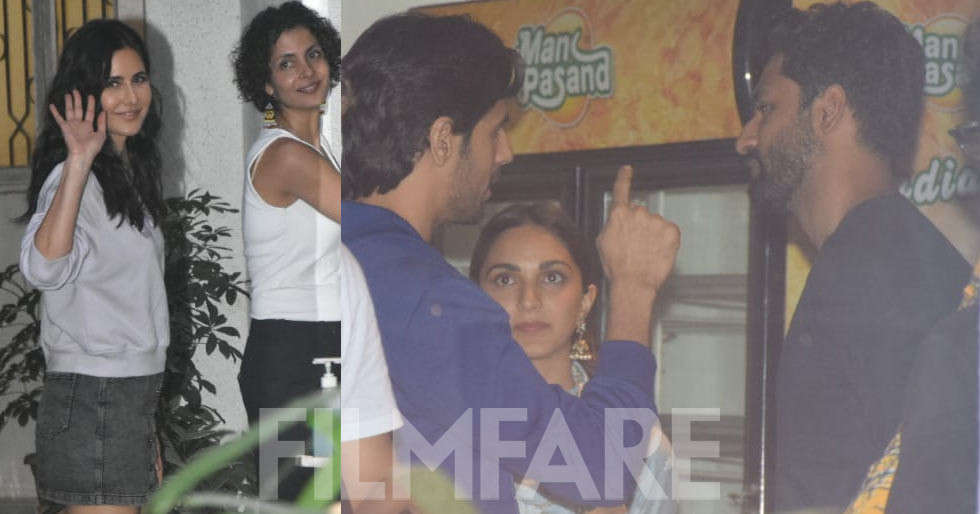 Katrina Kaif, Sidharth Malhotra, Kiara catch up for Vicky Kaushal's Sardar Udham Singh
