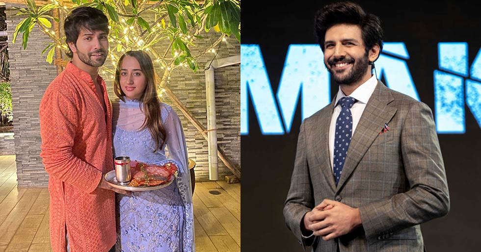Here's why Kartik Aaryan calls Varun Dhawan 'aadarsh pati' on social media