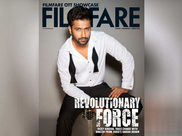 The suave Vicky Kaushal graces the latest digital cover of Filmfare
