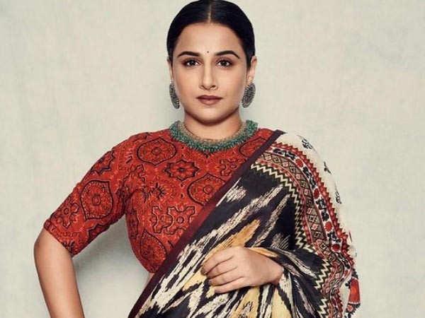 Here's how Vidya Balan channels her inner Goddess
