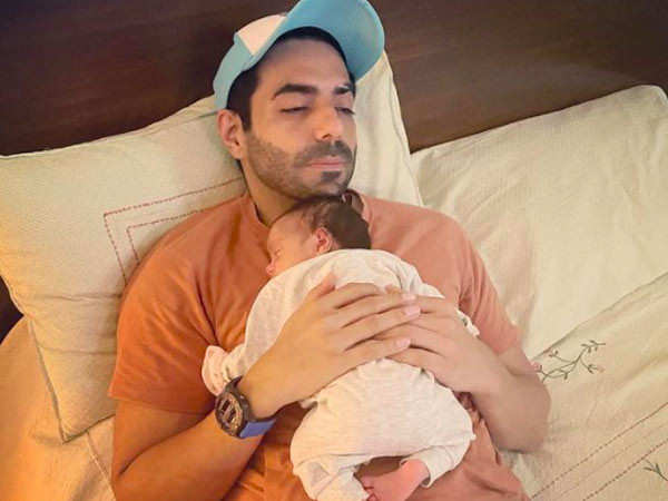 Aparshakti's message for daughter Arzoie will melt your hearts