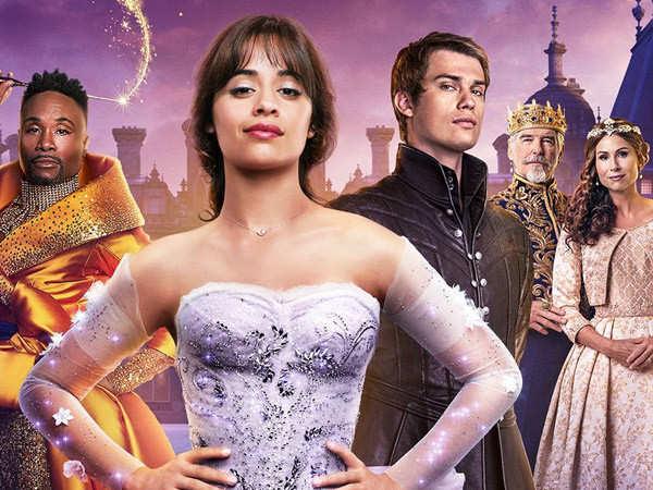 Team Cinderella promotes the film among fashion students