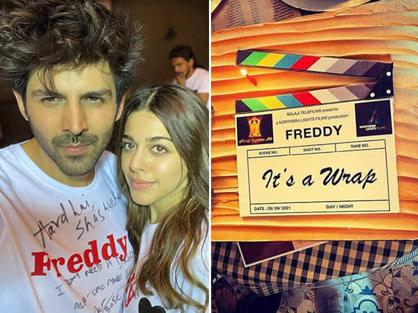 Kartik Aaryan shares crazy moments from the last day of Freddy