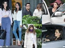 Karan Johar, Gauri Khan, Shweta Bachchan and gang snapped post shoot