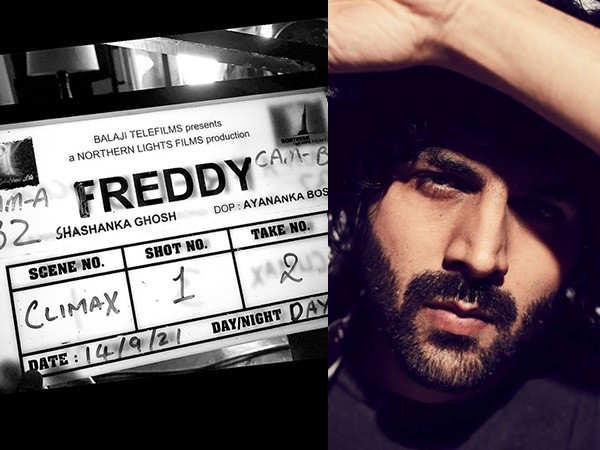 Kartik Aaryan all set for Freddy's climax shot