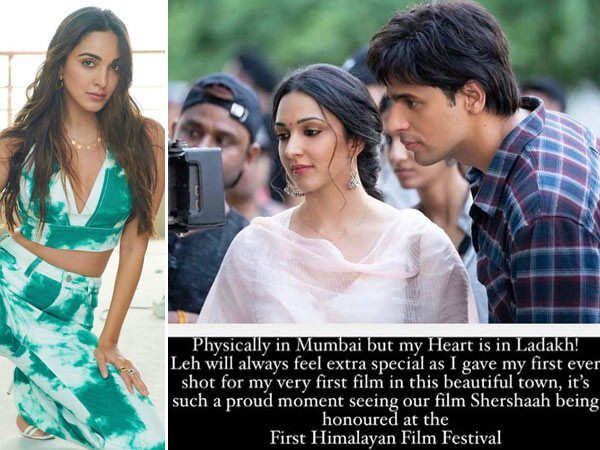Kiara Advani misses being a part of the Himalayan Film Festival