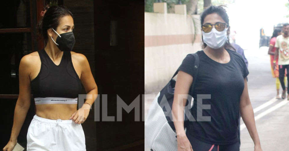 Pictures: Malaika Arora, Chitrangda Singh clicked in the city