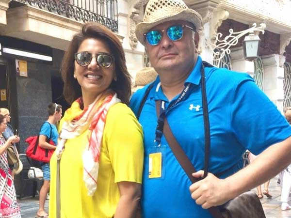 Neetu Kapoor's sweet note for Rishi Kapoor's birth anniversary will move you