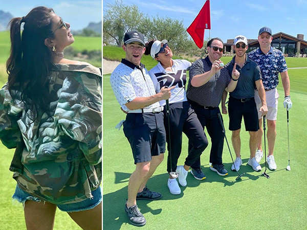Priyanka Chopra Jonas' perfect weekend at a golf field with Nick Jonas