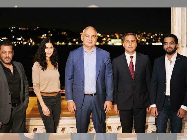 Salman Khan and Katrina Kaif meet a Turkish minister