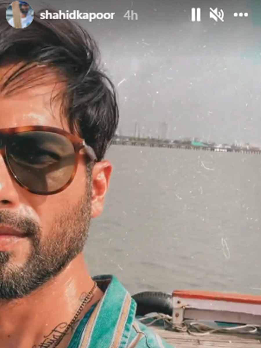 , Shahid Kapoor's shoot location for the day is worth seeing,