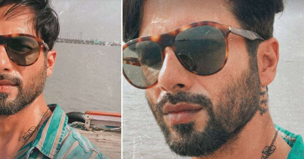 Shahid Kapoor's shoot location for the day is worth seeing