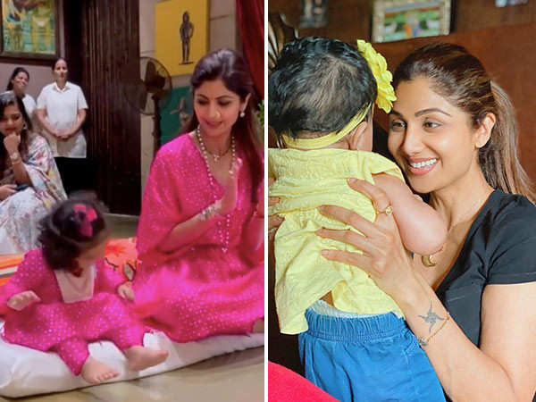 Shilpa Shetty shares the cutest video of daughter Samisha on Daughter's Day